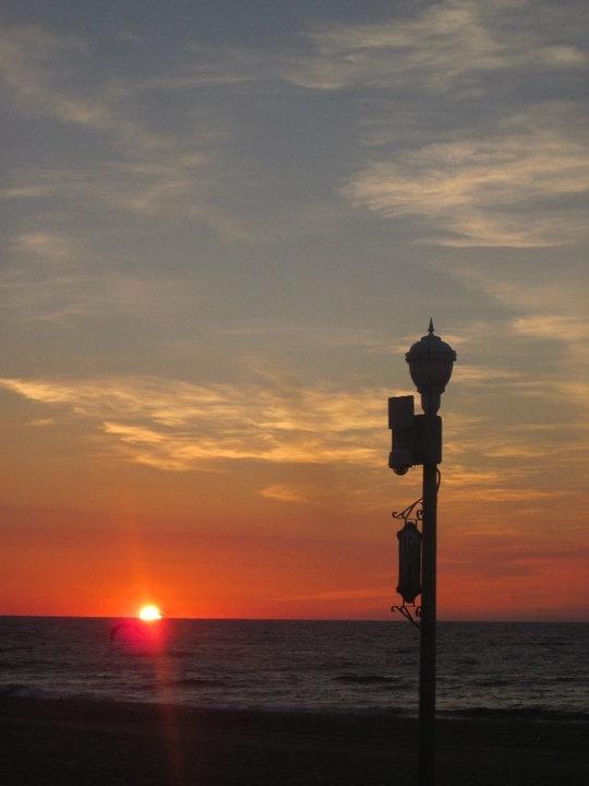 Feet in the Sand sunrise in Ocean City Maryland
