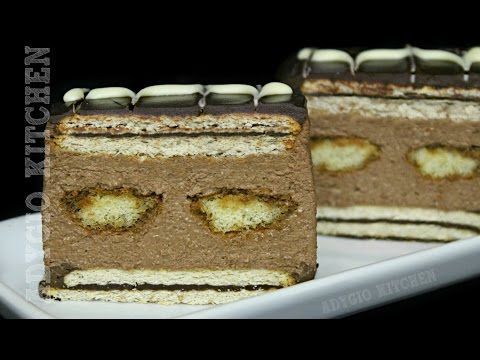 Prajitura cu biscuiti si piscoturi | Adygio Kitchen - YouTube