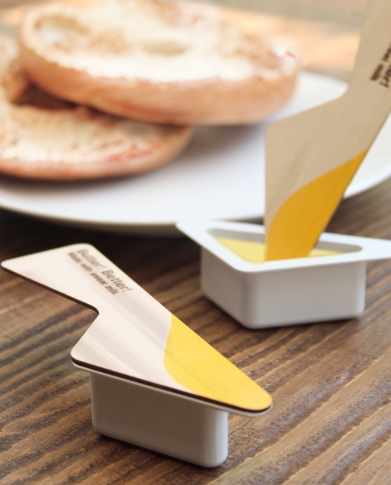 So clever! Butter Package #Packaging #food #desing