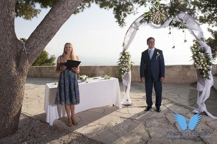 wedding in crete, greece