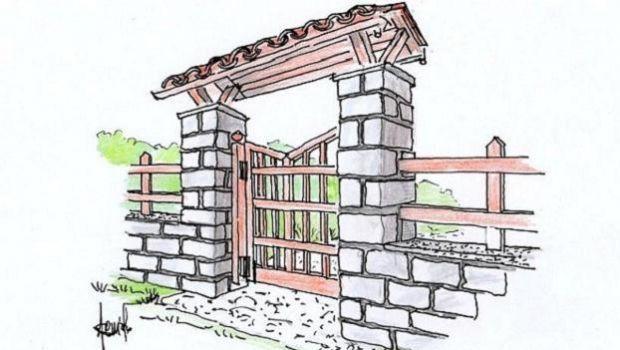 #lavorincasa : le cancellate, in fase di progettazione, devono essere pensate in accordo con la recinzione o con il muro al quale sono incernierate, con la dovuta considerazione dello stile della casa e dei dintorni....