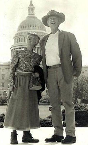 Buddy Ebsen and Irene Ryan!