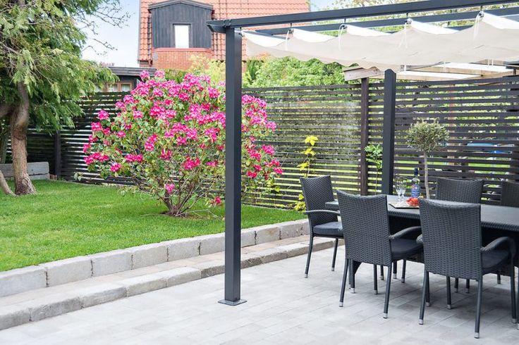 60 atemberaubende Ideen für Gartenzäune #holz #fence #kunststoff #garten #terr… – Privat dank Sichtschutz