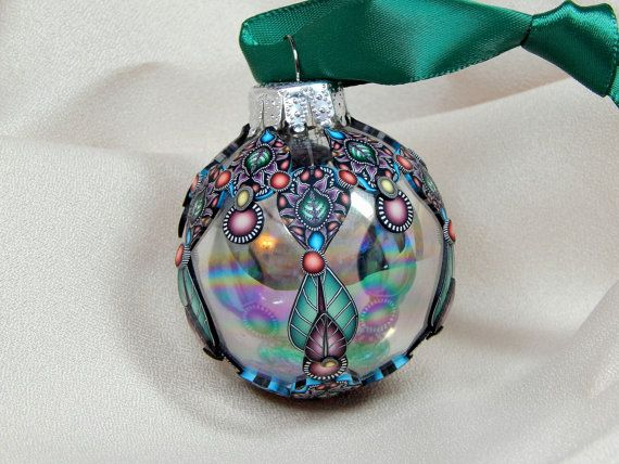 78 best images about crafts christmas glass tree for Glass christmas balls crafts