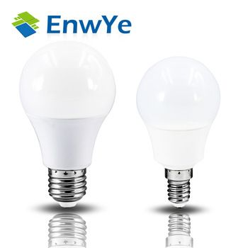 EnwYe LED E14 LED lamp E27 LED bulb AC 220V 230V 240V 15W 12W 9W 7W 5W 4W 3W Lampada LED Spotlight Table lamp Lamps light   Price: 5.20 USD