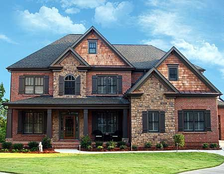 Two-Story Rooms - 15720GE | Craftsman, Mountain, Northwest, Photo Gallery, 2nd Floor Master Suite, Butler Walk-in Pantry, CAD Available, Den-Office-Library-Study, Jack & Jill Bath, MBR Sitting Area, PDF, Corner Lot | Architectural Designs