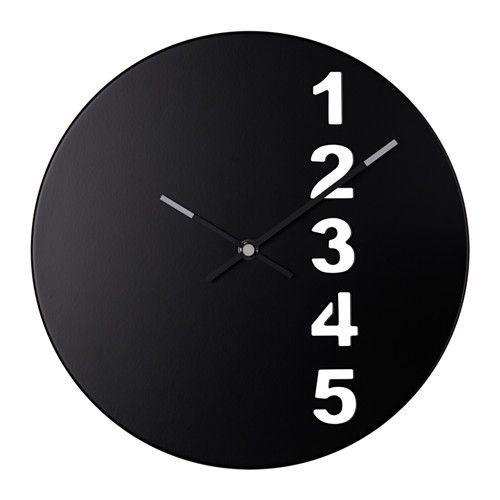 'fejs wall clock' from ikea