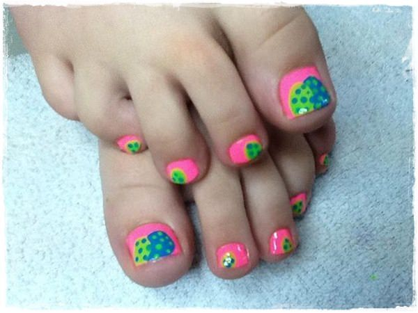 45 Childishly Easy Toe Nail Designs 2015 - 49 Best Toe Nail Designs Images On Pinterest Summer Toe Nails