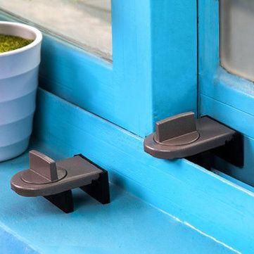 Window Security Lock Move Windows Sliding Door Child Security Lock Sliding Door Window Stopper