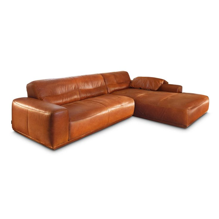 Willi Schillig Ecksofa 20560 william Braun Leder