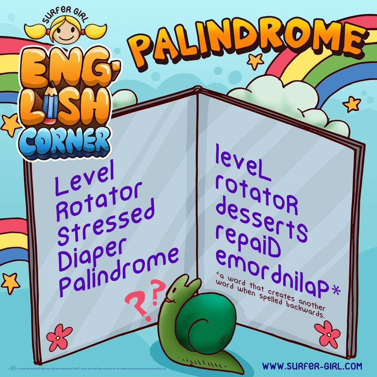 Hi Girls ^^ On this episode, our little English corner is going to be about palindrome! Do you know what a palindrome is? Check this out, and tell me some palindromes ^^ Love, Summer <3 #surfergirl #palindrome #englishcorner
