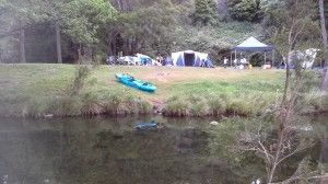 Spring gully stays Canungra, camping inspiration
