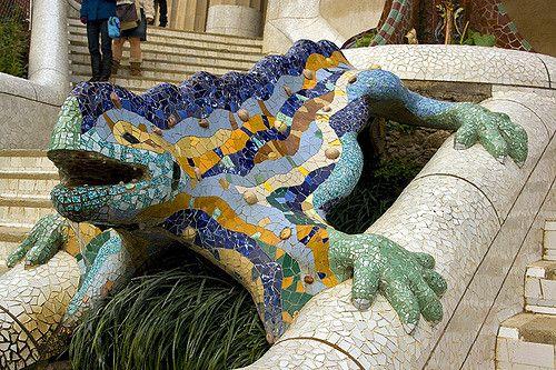 https://flic.kr/p/5TyvtM | Parc Guell | designed by Antonio Gaudi