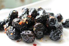 ricette per conservare le olive nere salate e al forno