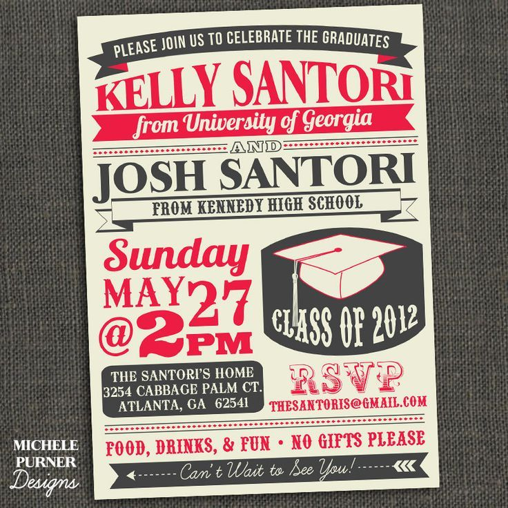 love these affordable custom high school and college graduation announcements from the tiny prints graduation - Graduation Invitations Pinterest