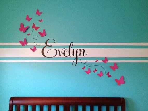 Buy 2 Sets Get 1 Set FREE 3D Wall Butterflies Nursery Wall Art ...