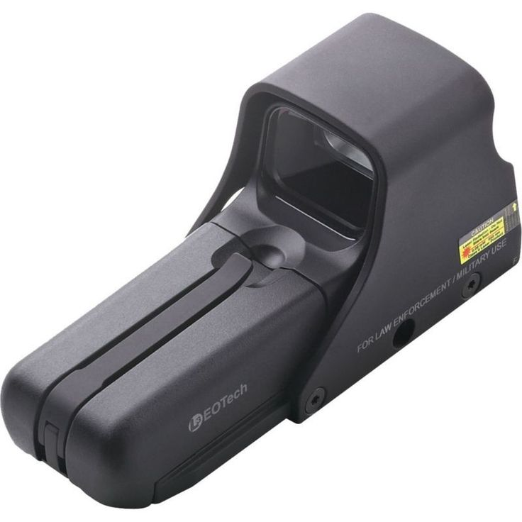 EOTech 552 Holographic Sight with XR308 Reticle, Black