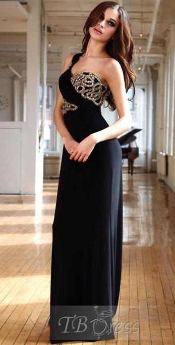 Gorgeous A-Line One-Shoulder Floor-Length Brush-Train Evening Dresses. Get thrilling discounts up to 80% Off at TBDress using Coupon and Promo Codes.