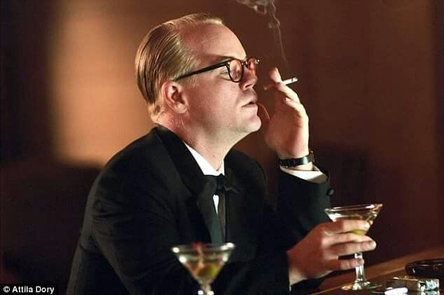Philippe Seymour Hoffman as Truman Capote