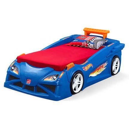 race car bed toddler toolbox dresser hot wheels kids racing set bedroom step two
