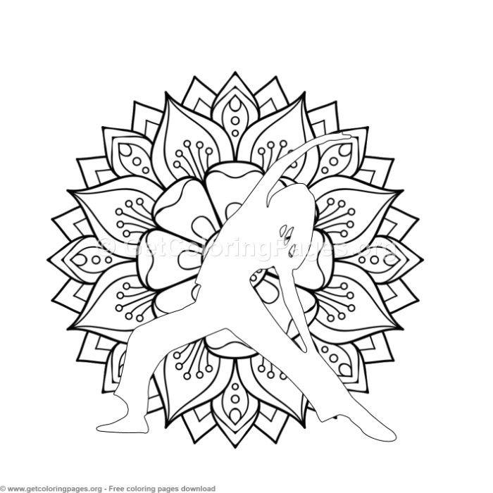 1 Yoga Pose Mandala Coloring Pages Coloring Coloringbook Coloringpages Mandalas Yoga Mandala Coloring Pages Mandala Coloring Owl Coloring Pages