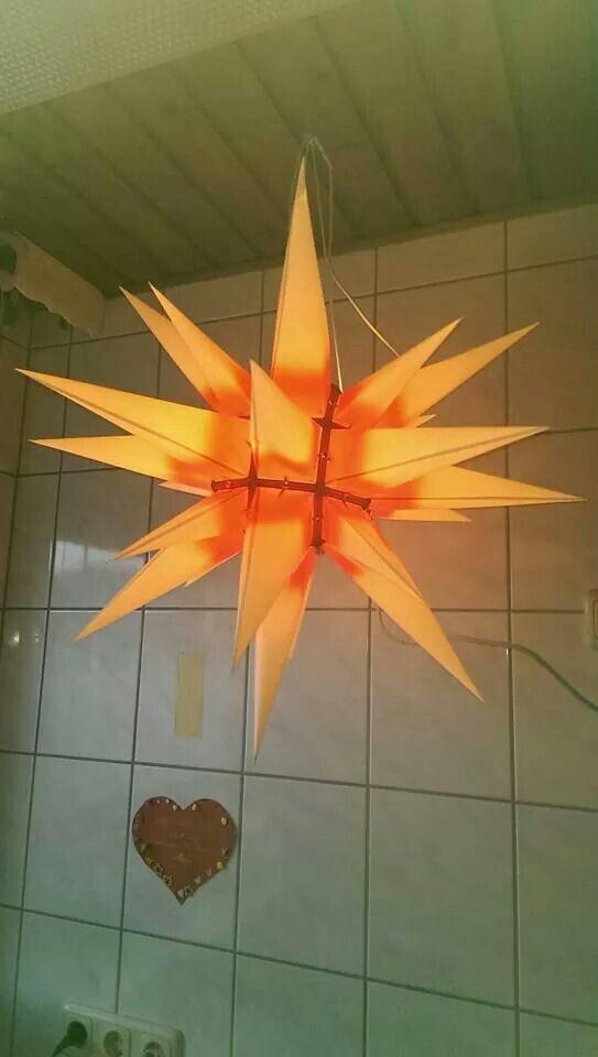 DDR Weihnachtsstern