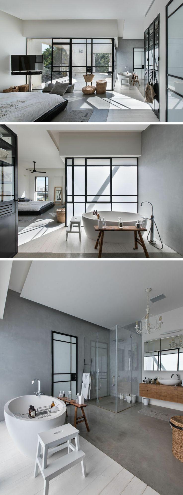 Charmant In Diesem Luxuriösen, Modernen Haus In Loftstil, Entworfen Von Neuman  Hayner Architects Sind Hängesessel Und Schaukel Aus Ratan Und Holz Ein  Highlight.