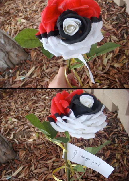 Pokémon rose. I choose you!  I'd marry this man instantly!