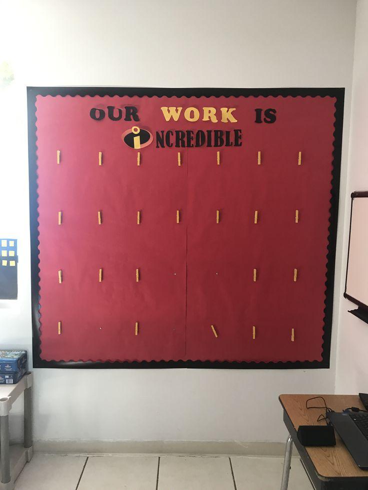 Incredible work superhero classroom