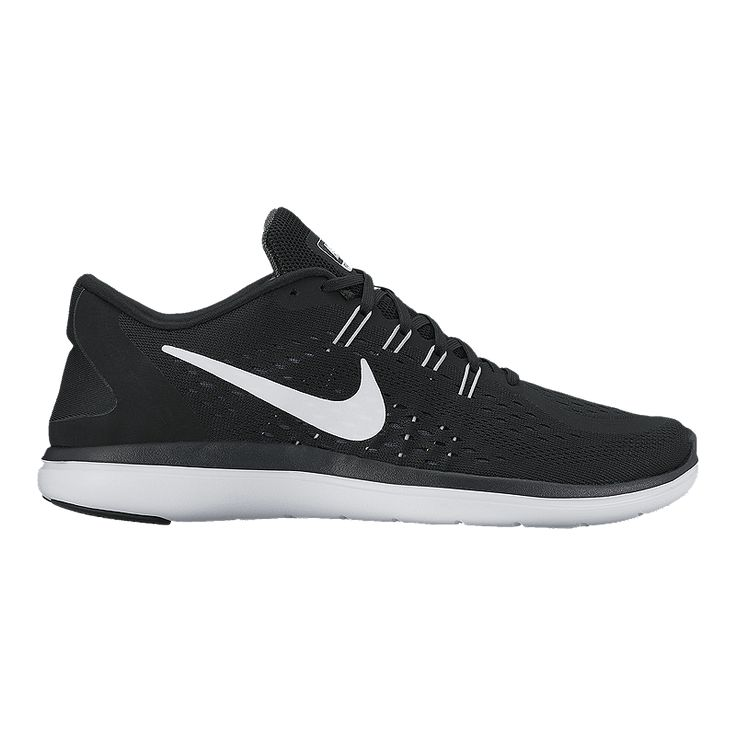 Top to bottom the Women's Nike Flex 2017 RN Running Shoe is built to flex. Its one-piece engineered mesh upper, adaptive heel design and molded Tri-Star outsole pattern work together for a smooth ride that moves with your stride.