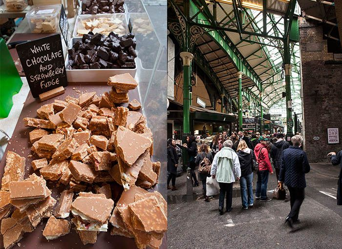Borough Market London ... A must see in London if you enjoy cooking, beautiful local foods or you just like to eat.