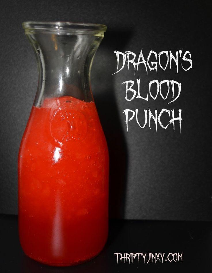 Dragons Blood Punch Hawaiian Punch Halloween #shop #cbias #spooky celebrations