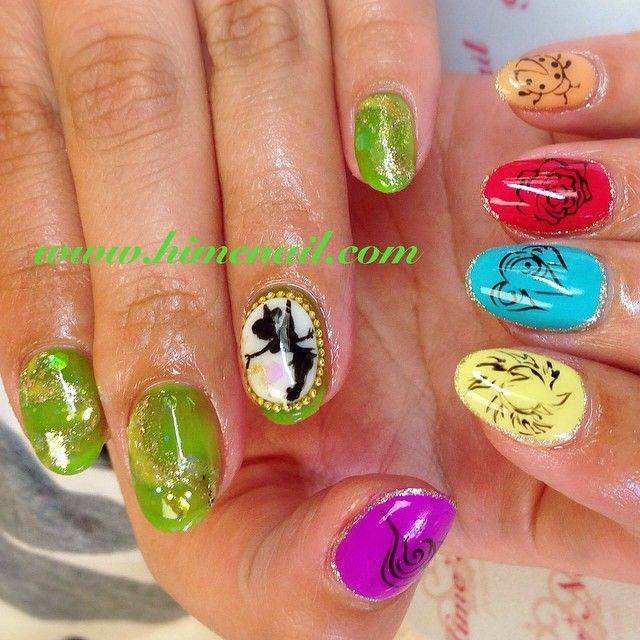 Tinkerbell Nails: 29 Best Tinkerbell Make Up Ideas Images On Pinterest