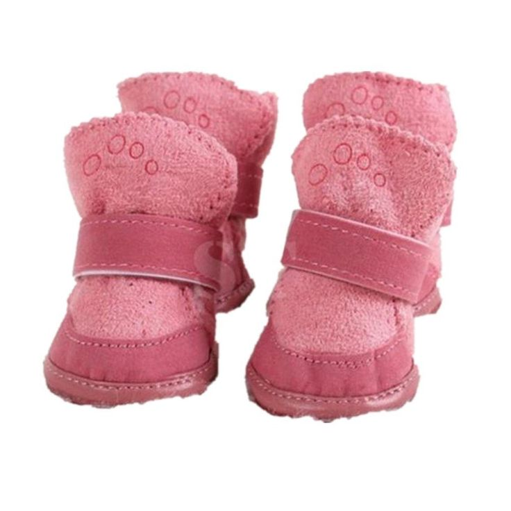Puppy Shoes,Haoricu 1 Set Waterproof Anti-Slip Pet Shoes Dog Boot For Girl Medium Small Dog *** You can get more details by clicking on the image. (This is an affiliate link and I receive a commission for the sales)