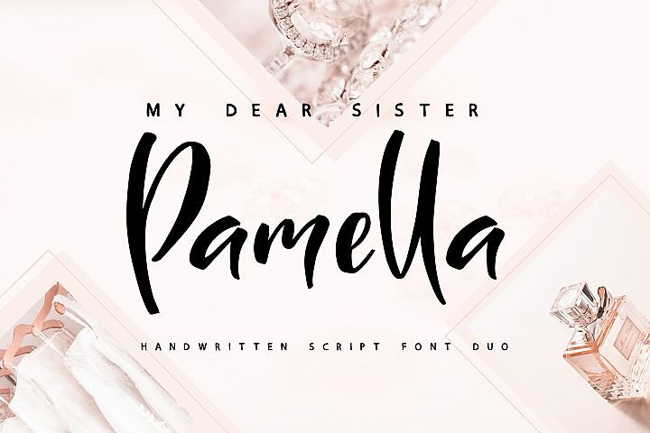 Sister Pamella Font Duo Free Fonts Dafont Over 170000 Free Fonts