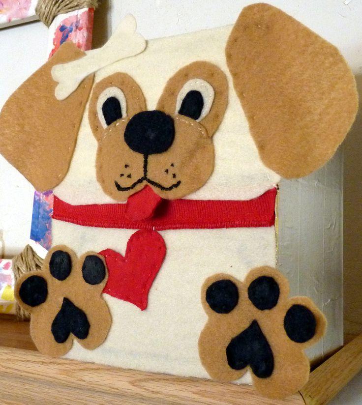 Puppy Valentine Box