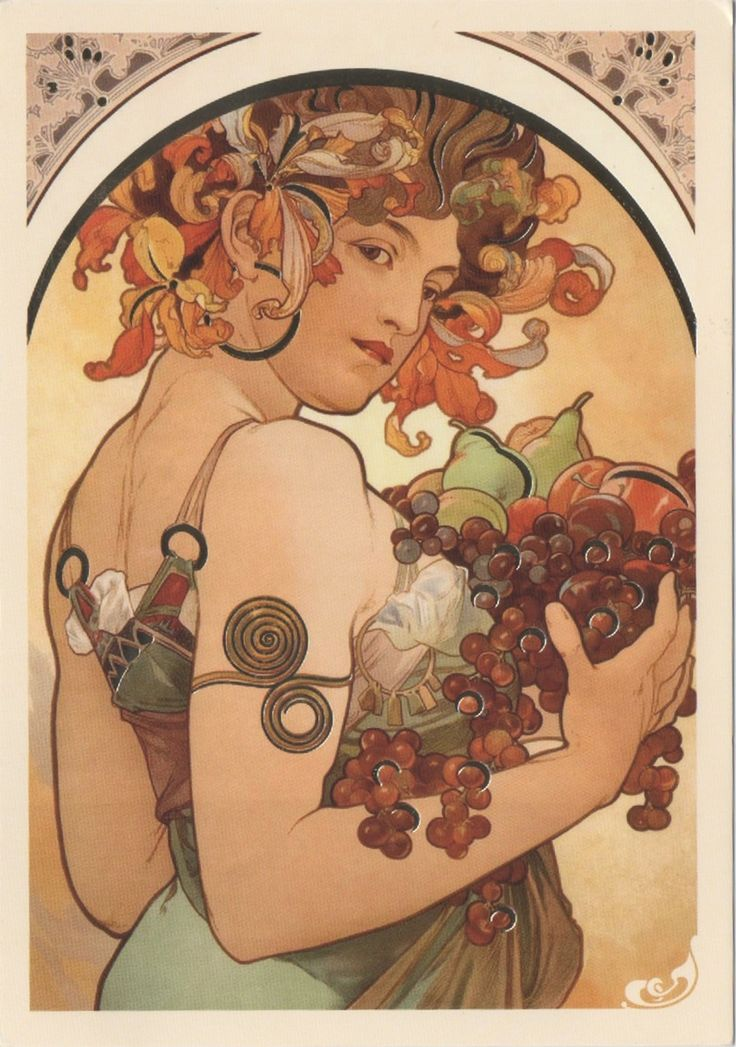 Swap - Arrived: 2016.05.25   ---     Alfons Mucha - Fruit (1897)