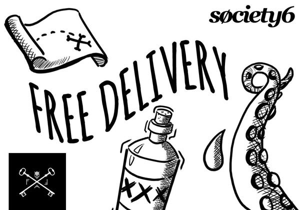 FREE worldwide shipping on society6 Check out the shop! www.society6.com/Flavia