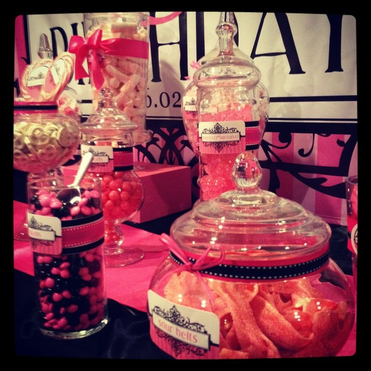 Birthday Party Buffet Table: 33 Best Images About 13th Birthday Party Ideas On Pinterest