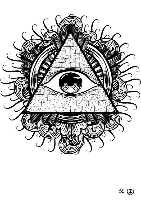 All seen eye tattoo inspiration