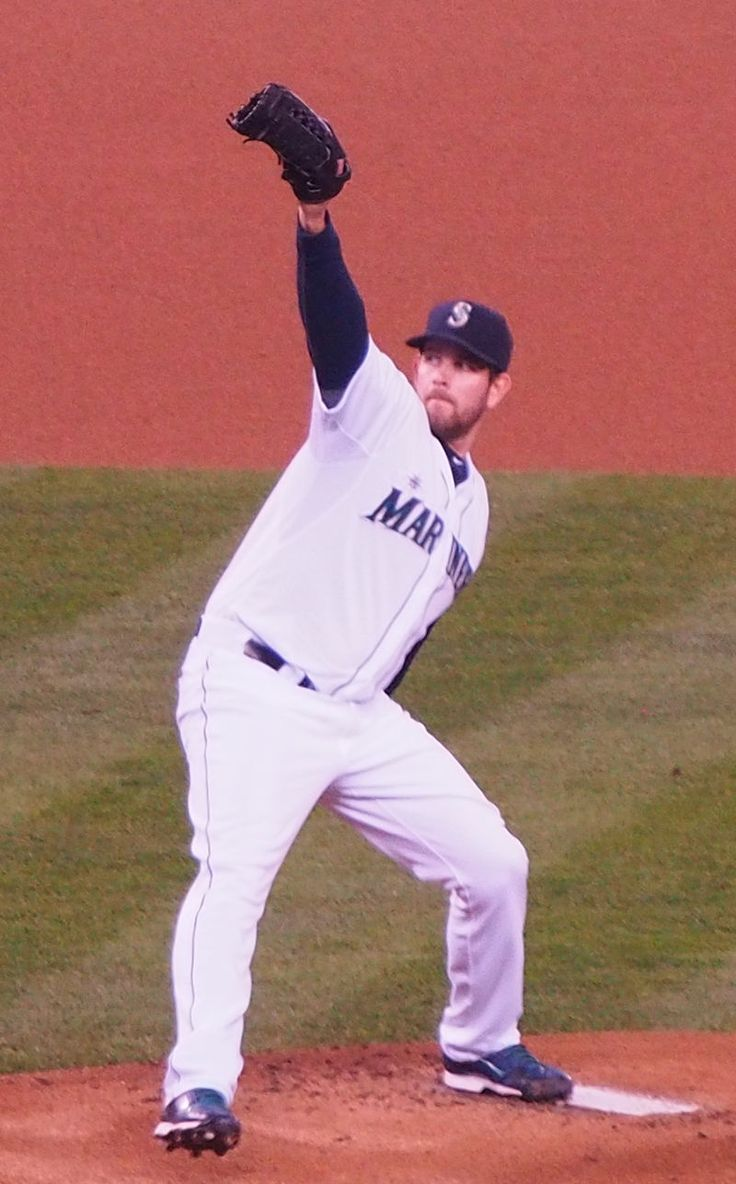 James Paxton is a recent Canadian addition to the Mariners' pitching roster, and they're happy with him.  In 2014 his 6 - 4 record with a 3.04 ERA was quite respectable and gave the starting rotation the solid, left-handed pitching it needed.  We wish him a long and successful MLB career.