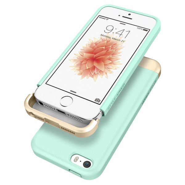 Add a pop of color to your new iPhone SE! Spigen's Style Armor™ Case comes in 2-pieces that slides your device securely and safely for absolute protection. This two-tone appearance has become a popular item amongst Spigen products. Express your style by choosing your favorite color with this thin yet sturdy design!  Shop Now: http://www.spigen.com/products/iphone-se-case-style-armor?variant=16522717953