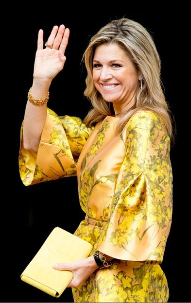 ♥•✿•QueenMaxima•✿•♥...May 21, 2015... The Dutch Royals attend the award ceremony of the Apple of Oranges Award in The Hague, Netherlands