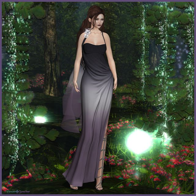 Moon Goddess  Oubliette #SL #SecondLife #PourSLFemme #MISSSLFeed