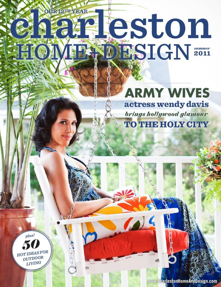 Beautiful Charleston Home And Design Magazine Contemporary ...