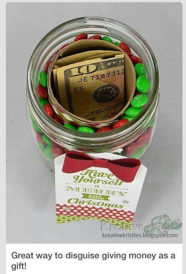 Cute way to gift money!
