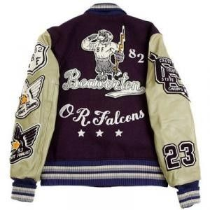 "Whitesville ""Beaverton OR.Falcons"" Jacket"