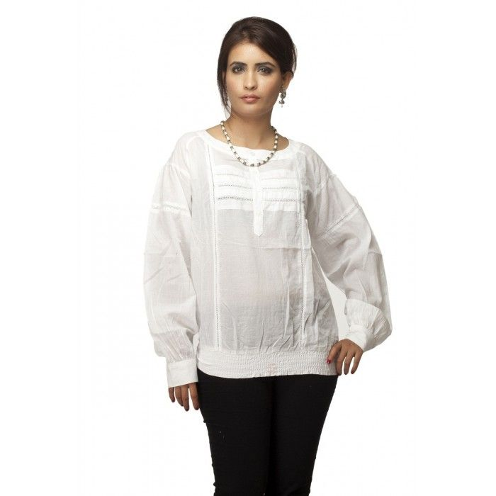 White Beauty Tunic | High5Store.com