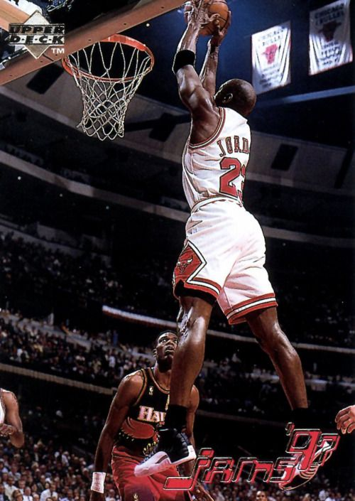 Jams '97... MJ wearing aj12