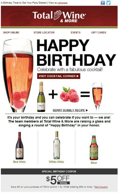 Best  Birthday Email Ideas On   Email Marketing